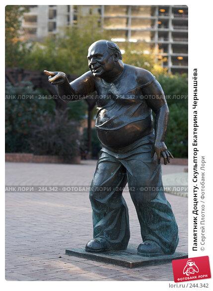 Купить «Памятник Доценту», фото № 244342, снято 22 сентября 2007 г. (c) Сергей Плотко / Фотобанк Лори