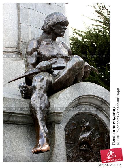 Памятник индейцу, фото № 210174, снято 3 февраля 2008 г. (c) Лия Покровская / Фотобанк Лори