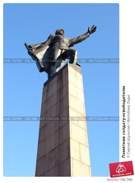 Купить «Памятник солдату-освободителю», фото № 192766, снято 30 января 2008 г. (c) Сергей Шульгин / Фотобанк Лори