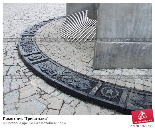 """Памятник """"Три штыка"""", фото № 263238, снято 9 декабря 2006 г. (c) Светлана Арешкина / Фотобанк Лори"""