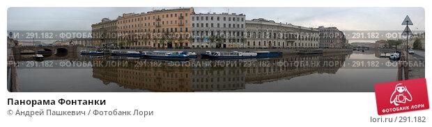 Панорама Фонтанки, фото № 291182, снято 25 марта 2017 г. (c) Андрей Пашкевич / Фотобанк Лори
