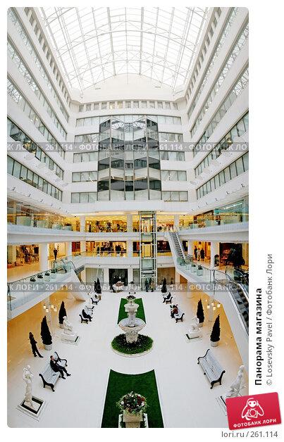 Панорама магазина, фото № 261114, снято 29 июня 2017 г. (c) Losevsky Pavel / Фотобанк Лори