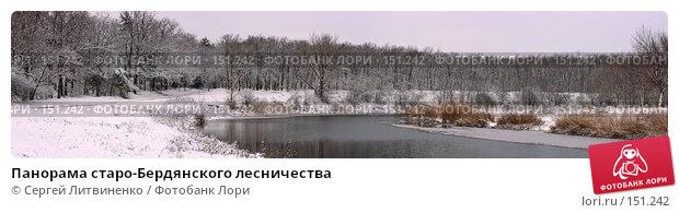 Панорама старо-Бердянского лесничества, фото № 151242, снято 24 мая 2017 г. (c) Сергей Литвиненко / Фотобанк Лори
