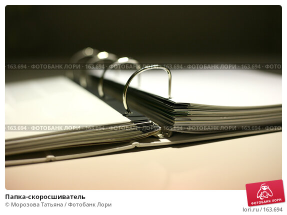 Папка-скоросшиватель, фото № 163694, снято 2 ноября 2006 г. (c) Морозова Татьяна / Фотобанк Лори