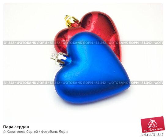 Пара сердец, фото № 31342, снято 23 января 2007 г. (c) Харитонов Сергей / Фотобанк Лори