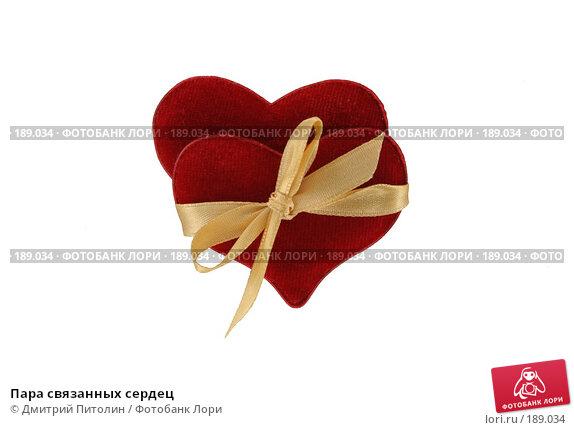 Пара связанных сердец, фото № 189034, снято 27 января 2008 г. (c) Дмитрий Питолин / Фотобанк Лори