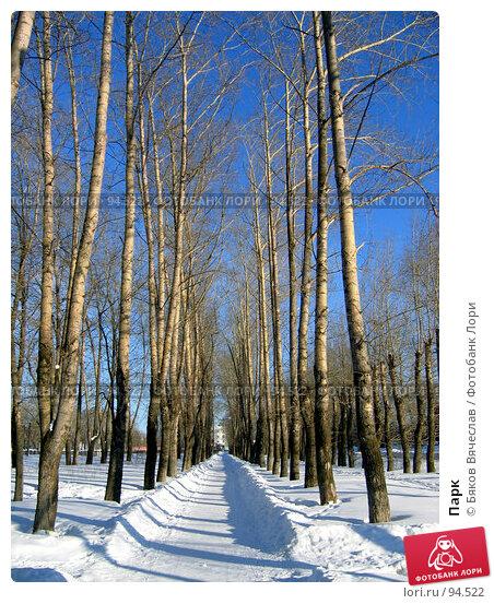 Парк, фото № 94522, снято 25 февраля 2007 г. (c) Бяков Вячеслав / Фотобанк Лори