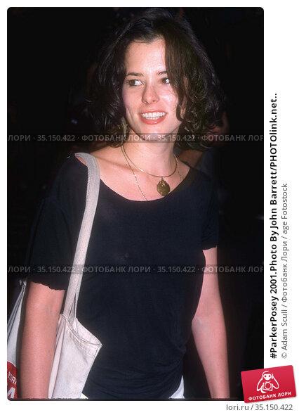#ParkerPosey 2001.Photo By John Barrett/PHOTOlink.net.. Редакционное фото, фотограф Adam Scull / age Fotostock / Фотобанк Лори
