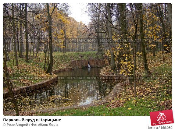 Парковый пруд в Царицыне, фото № 166030, снято 27 октября 2007 г. (c) Розе Андрей / Фотобанк Лори