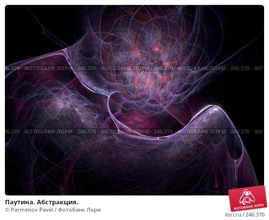 Паутина. Абстракция., иллюстрация № 246370 (c) Parmenov Pavel / Фотобанк Лори
