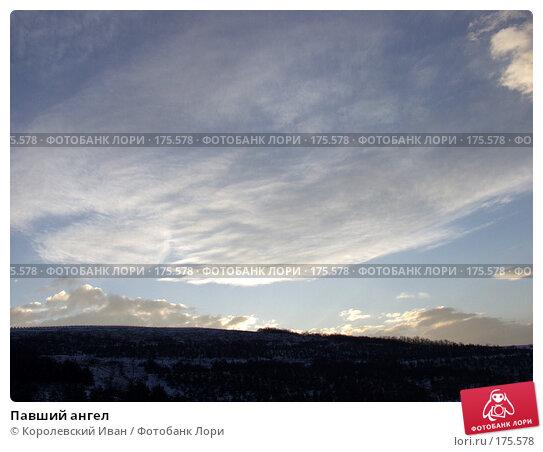 Павший ангел, фото № 175578, снято 22 февраля 2003 г. (c) Королевский Иван / Фотобанк Лори