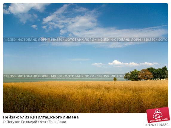 Пейзаж близ Кизилташского лимана, фото № 149350, снято 9 августа 2007 г. (c) Петухов Геннадий / Фотобанк Лори