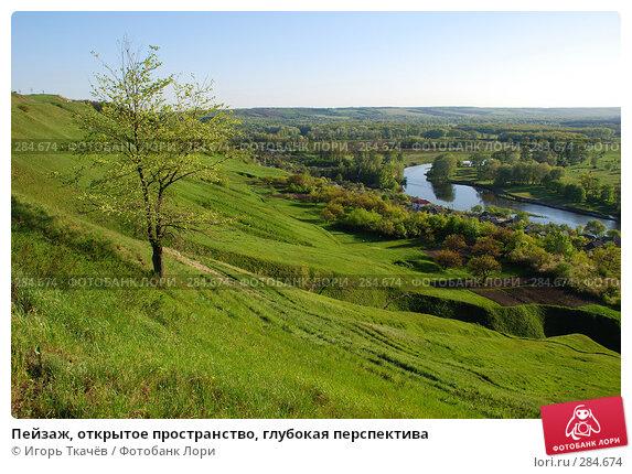 Пейзаж, открытое пространство, глубокая перспектива, фото № 284674, снято 25 апреля 2008 г. (c) Игорь Ткачёв / Фотобанк Лори