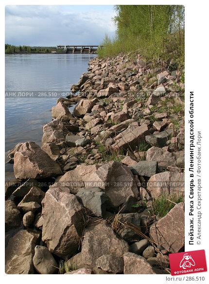 Пейзаж. Река Свирь в Ленинградской области, фото № 286510, снято 13 мая 2008 г. (c) Александр Секретарев / Фотобанк Лори