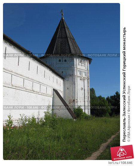 Переславль-Залесский Успенский Горицкий монастырь, фото № 108646, снято 5 июля 2006 г. (c) ИВА Афонская / Фотобанк Лори