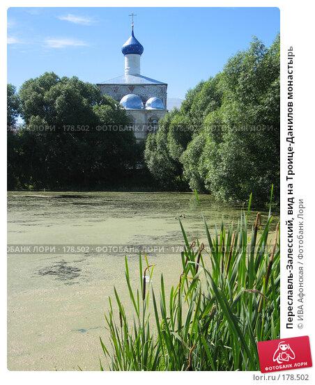Переславль-Залесский, вид на Троице-Данилов монастырь, фото № 178502, снято 5 июля 2006 г. (c) ИВА Афонская / Фотобанк Лори