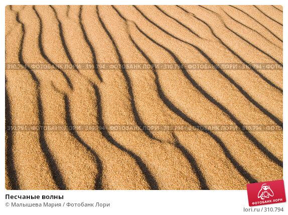 Купить «Песчаные волны», фото № 310794, снято 24 марта 2018 г. (c) Малышева Мария / Фотобанк Лори