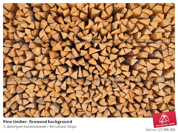 Купить «Pine timber. firewood background», фото № 27386366, снято 15 июля 2015 г. (c) Дмитрий Калиновский / Фотобанк Лори