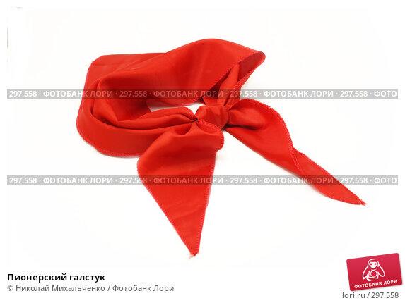 Пионерский галстук, фото № 297558, снято 24 мая 2008 г. (c) Николай Михальченко / Фотобанк Лори