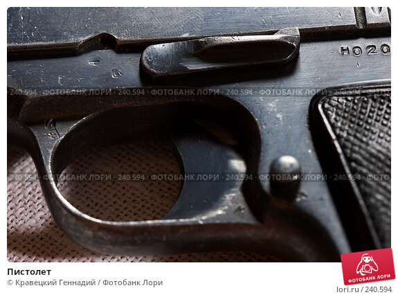 Пистолет, фото № 240594, снято 25 октября 2016 г. (c) Кравецкий Геннадий / Фотобанк Лори