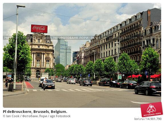 Купить «Pl deBrouckere, Brussels, Belgium.», фото № 14901790, снято 20 июня 2018 г. (c) age Fotostock / Фотобанк Лори