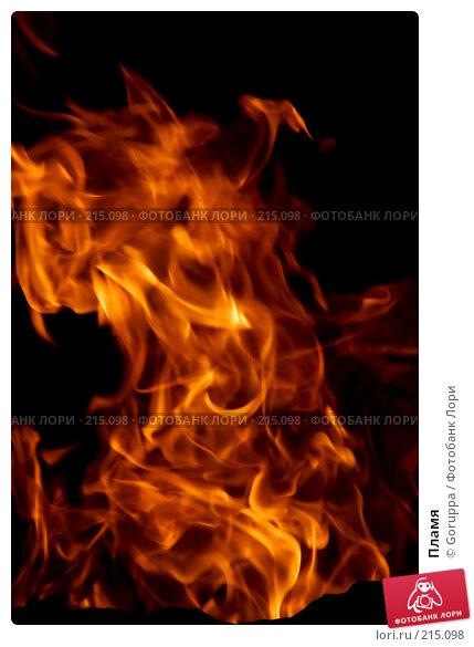 Пламя, фото № 215098, снято 25 июля 2007 г. (c) Goruppa / Фотобанк Лори