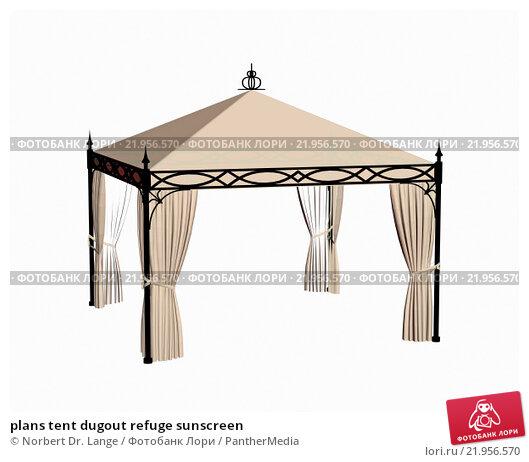 Купить «plans tent dugout refuge sunscreen», фото № 21956570, снято 26 апреля 2019 г. (c) PantherMedia / Фотобанк Лори