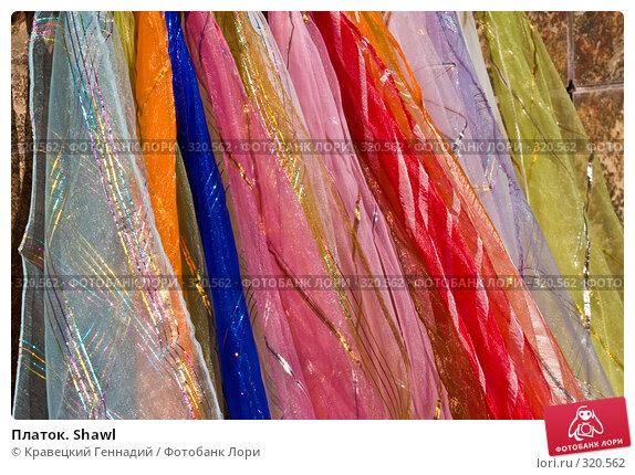 Платок. Shawl, фото № 320562, снято 13 мая 2004 г. (c) Кравецкий Геннадий / Фотобанк Лори