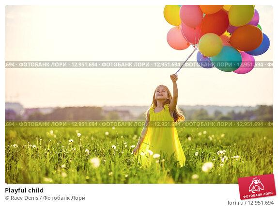 Playful child, фото № 12951694, снято 3 июня 2015 г. (c) Raev Denis / Фотобанк Лори