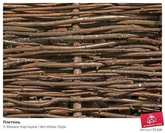 Плетень, эксклюзивное фото № 55826, снято 27 мая 2007 г. (c) Михаил Карташов / Фотобанк Лори