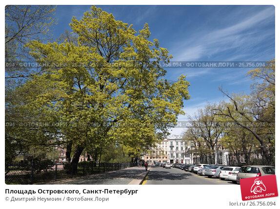 Площадь Островского, Санкт-Петербург, эксклюзивное фото № 26756094, снято 23 мая 2017 г. (c) Дмитрий Неумоин / Фотобанк Лори