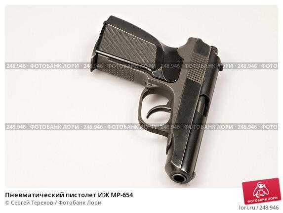 Купить «Пневматический пистолет ИЖ MP-654», фото № 248946, снято 2 февраля 2008 г. (c) Сергей Терехов / Фотобанк Лори