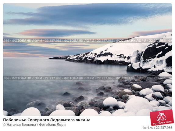 Купить «Побережье Северного Ледовитого океана», фото № 22237986, снято 11 марта 2016 г. (c) Наталья Волкова / Фотобанк Лори
