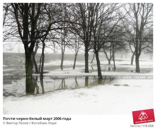 Купить «Почти черно-белый март 2006 года», фото № 118658, снято 29 марта 2006 г. (c) Виктор Пелих / Фотобанк Лори