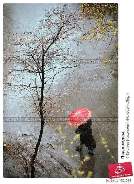 Под дождем, фото № 152058, снято 30 марта 2017 г. (c) Кирилл Николаев / Фотобанк Лори