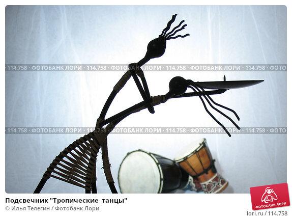 """Подсвечник """"Тропические  танцы"""", фото № 114758, снято 10 ноября 2007 г. (c) Илья Телегин / Фотобанк Лори"""