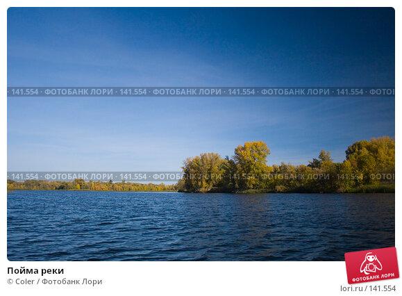 Пойма реки, фото № 141554, снято 6 октября 2007 г. (c) Coler / Фотобанк Лори