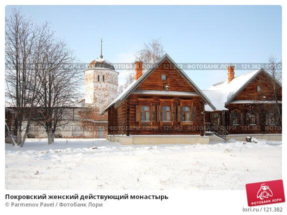 Купить «Покровский женский действующий монастырь», фото № 121382, снято 18 ноября 2007 г. (c) Parmenov Pavel / Фотобанк Лори