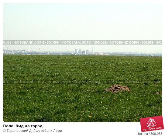 Поле. Вид на город, фото № 300058, снято 19 мая 2007 г. (c) Тарановский Д. / Фотобанк Лори