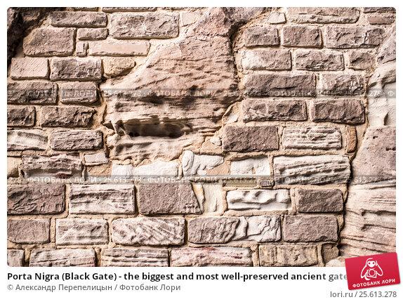 Купить «Porta Nigra (Black Gate) - the biggest and most well-preserved ancient gates worldwide», фото № 25613278, снято 3 января 2017 г. (c) Александр Перепелицын / Фотобанк Лори