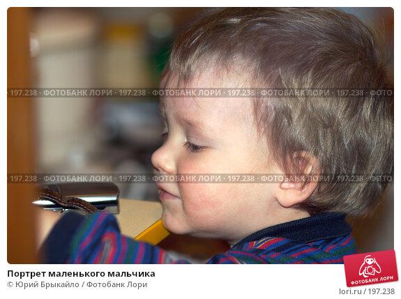 Портрет маленького мальчика, фото № 197238, снято 15 ноября 2007 г. (c) Юрий Брыкайло / Фотобанк Лори