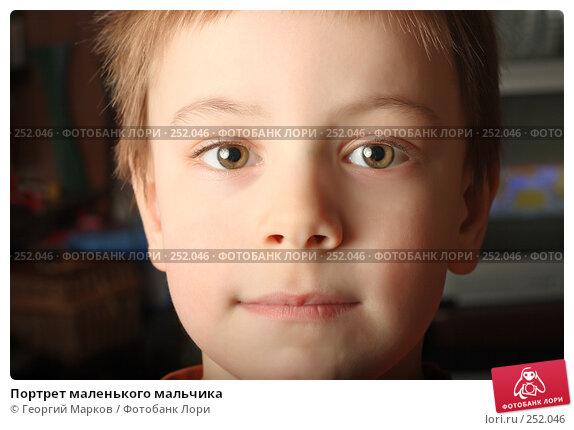 Портрет маленького мальчика, фото № 252046, снято 23 марта 2008 г. (c) Георгий Марков / Фотобанк Лори