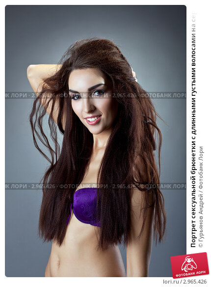 Сексуальные брюнетки с густыми волосами фото — photo 3