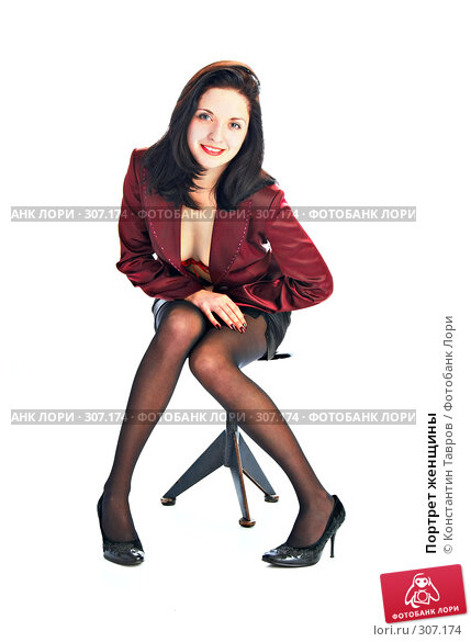 Портрет женщины, фото № 307174, снято 11 января 2008 г. (c) Константин Тавров / Фотобанк Лори