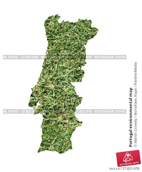 Купить «Portugal environmental map», фото № 27821978, снято 20 октября 2018 г. (c) PantherMedia / Фотобанк Лори