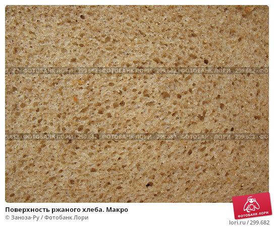 Поверхность ржаного хлеба. Макро, фото № 299682, снято 24 мая 2008 г. (c) Заноза-Ру / Фотобанк Лори