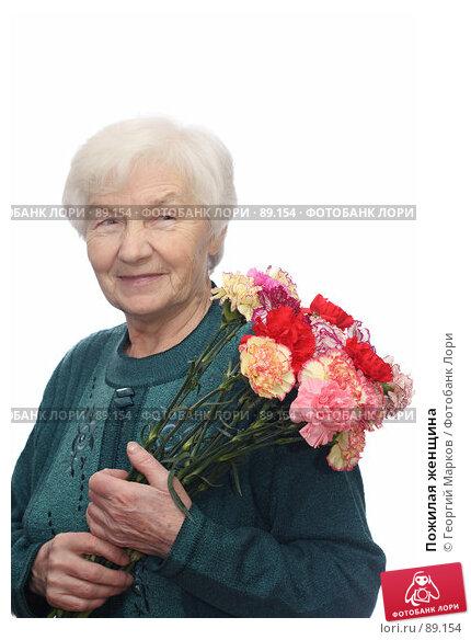 Пожилая женщина, фото № 89154, снято 28 января 2007 г. (c) Георгий Марков / Фотобанк Лори