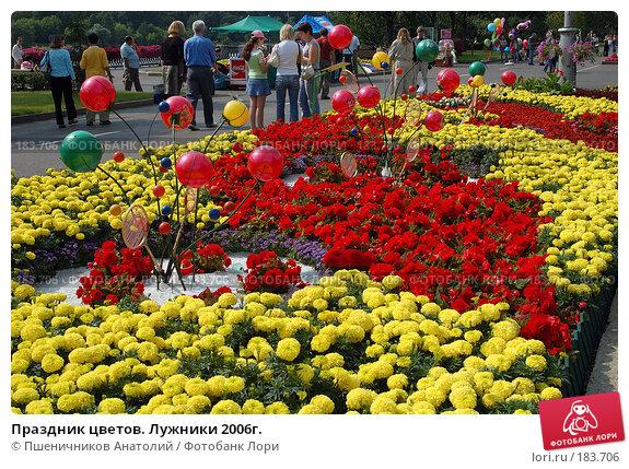 Праздник цветов. Лужники 2006г., фото № 183706, снято 30 июля 2006 г. (c) Пшеничников Анатолий / Фотобанк Лори
