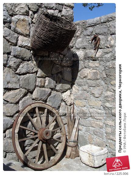 Предметы сельского дворика, Черногория, фото № 225006, снято 21 сентября 2007 г. (c) УНА / Фотобанк Лори
