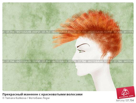 Прекрасный манекен с красноватыми волосами, фото № 37794, снято 26 июля 2017 г. (c) Tamara Kulikova / Фотобанк Лори